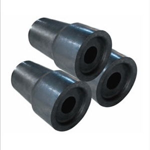 Aluminum carbon nozzle