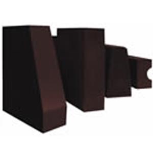 Semi - re - combined magnesia chrome brick